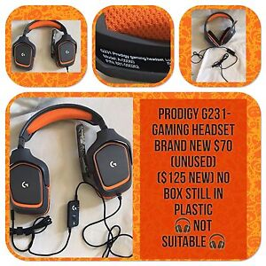 GAMING HEADSET BRAND NEW NO BOX $70 Tenambit Maitland Area Preview