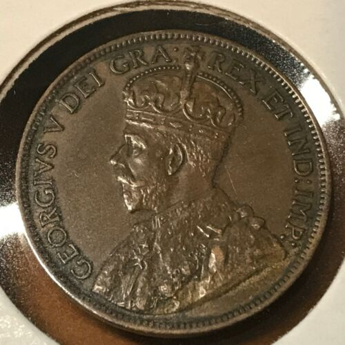 1912 CANADA ONE CENT BETTER GRADE LARGE PENNY COIN