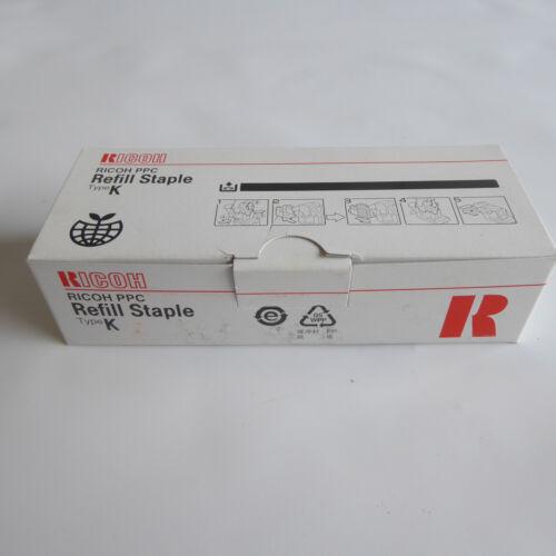 Ricoh PPC Type K Staple Refills Genuine OEM 3 Refill Pack 502R-AM