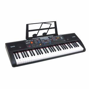 61 Key Electronic Music Keyboard Piano Electric Organ - Portable with USB & MP3
