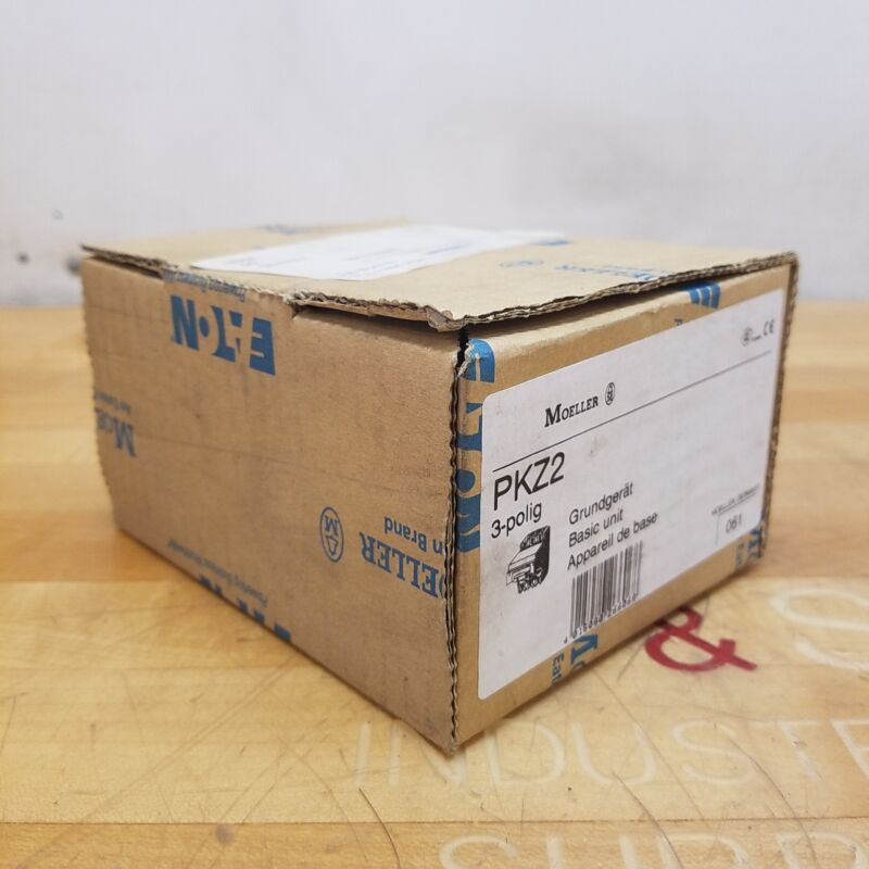 Eaton Moeller PKZ2 Circuit Breaker Manual Motor Protector - NEW