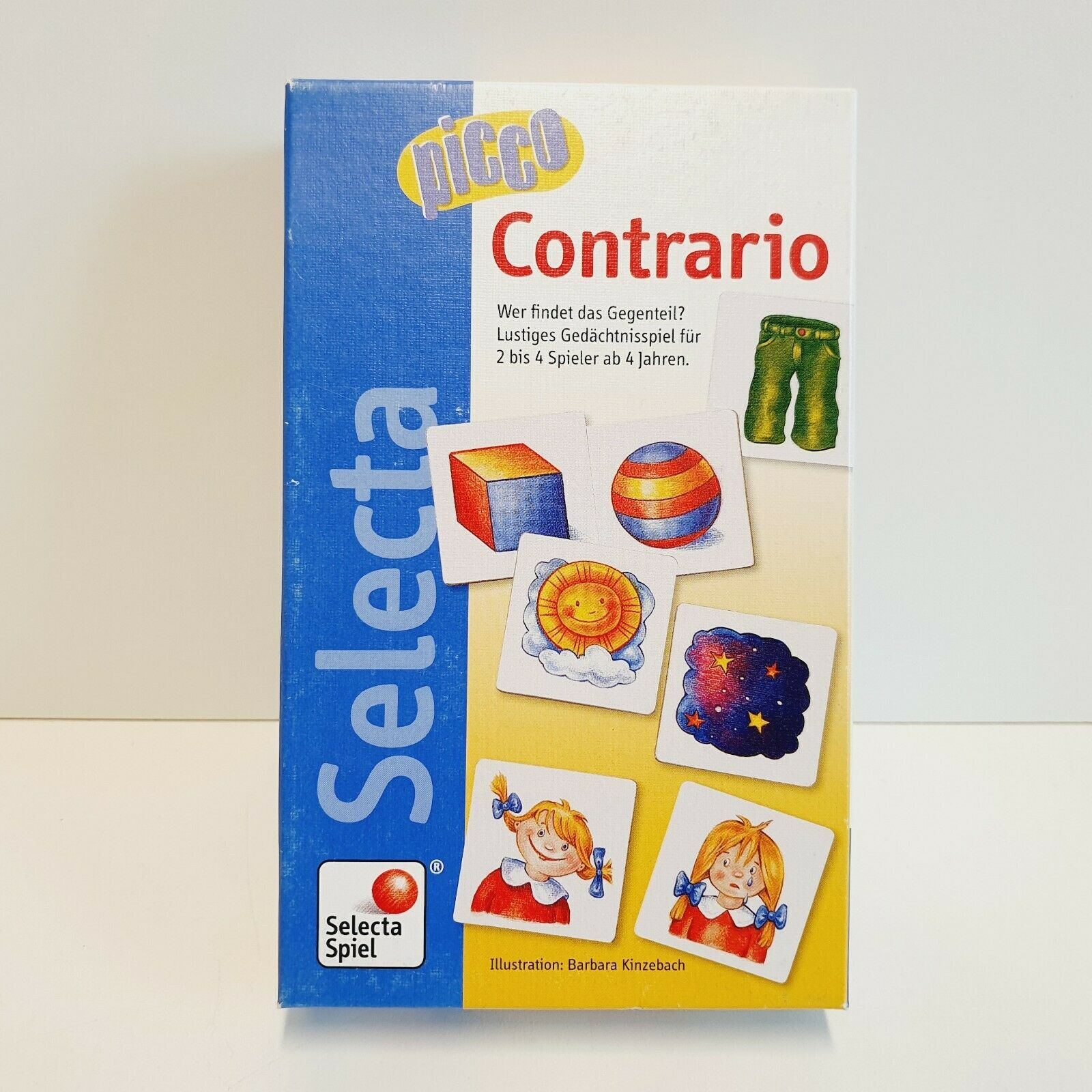 Picco Contrario - Gedächtnisspiel ab 4 Jahren - Selecta - 1 Karte fehlt