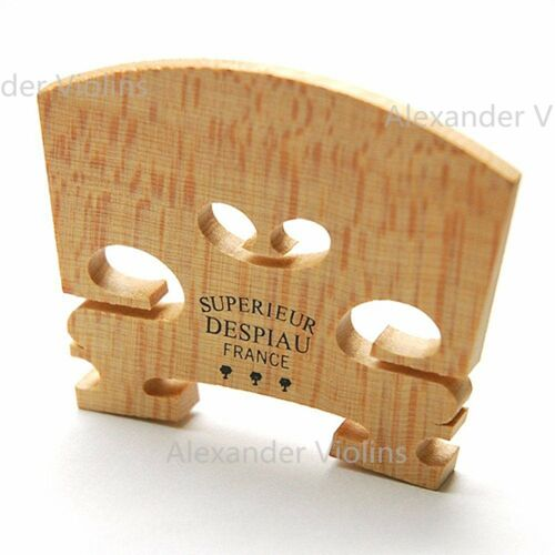 Genuine Despiau Superieur Violin Bridge-Three Tree, For 4/4 Violin,US Seller!