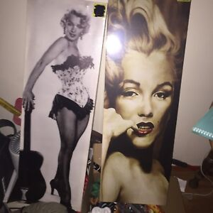 Two Marilyn Monroe canvases brand new still wrapped