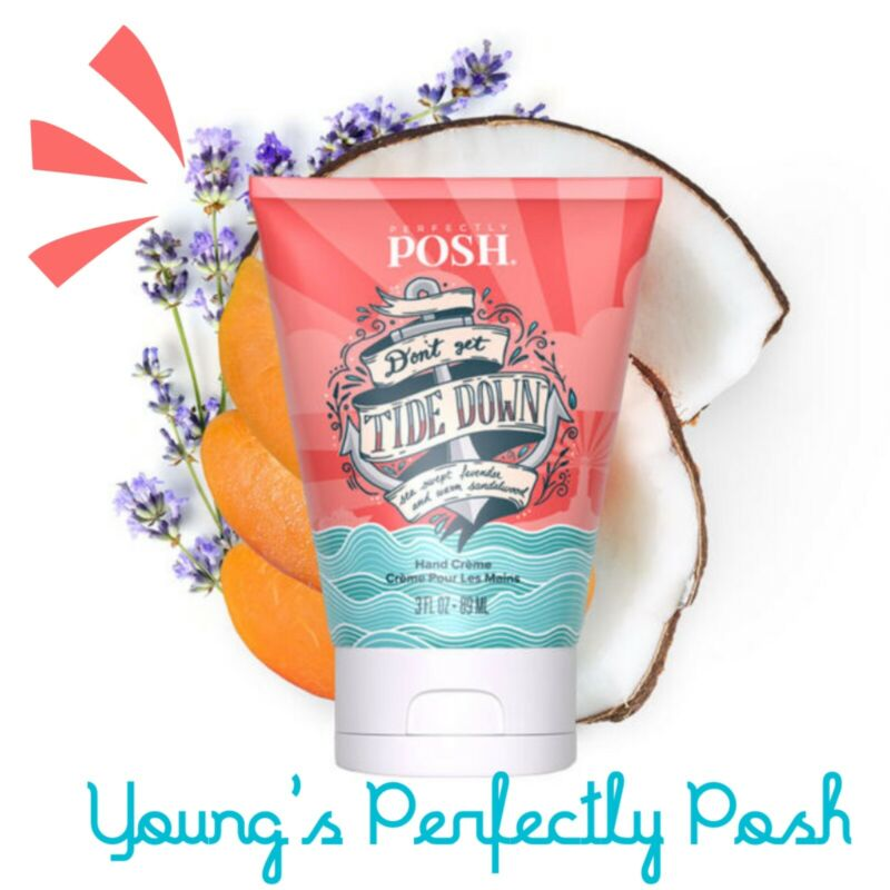 Perfectly Posh Don't Get Tide Down Hand Creme /New 2021