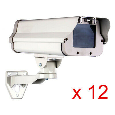 "12-Pack Housing CCTV Security Surveillance Outdoor Camera Box Weatherproof 15"""