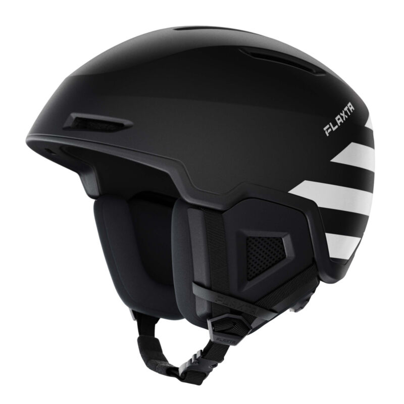Flaxta Exalted Protective Ski and Snowboard Full Helmet Medium/Large Size, Black