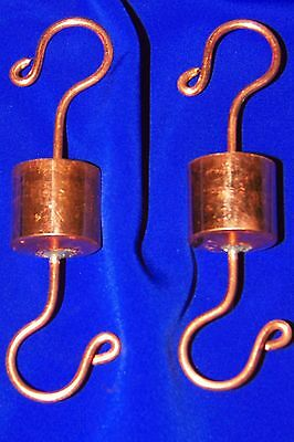 two original Grandpa Handcrafted Copper Ant Trap Guard Moat 4 Hummingbird Feeder