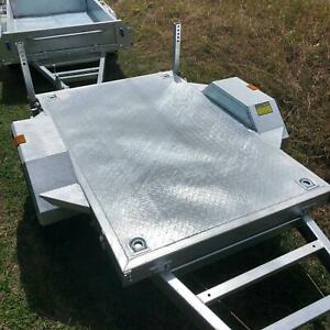 SALE! New 6x4 Braked Flat Top Trailer For Sale 1200KG ATM Coopers Plains Brisbane South West Preview