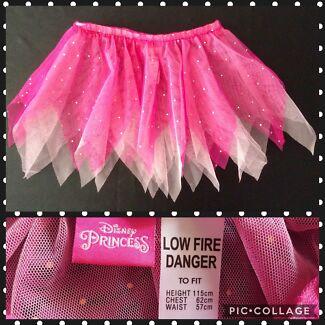 GIRLS DRESS-UP DISNEY FAIRY/PRINCESS SKIRT - SIZE 5