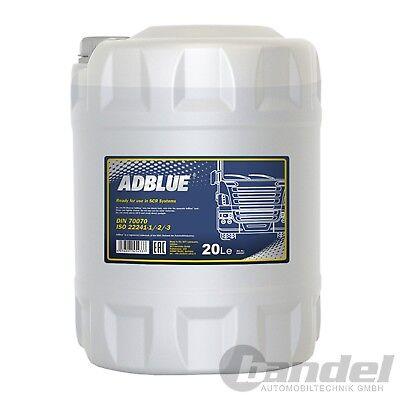 [0,90€/L] 20 Liter AdBLUE Harnstofflösung SCR Abgasreinigung Diesel TDI CDI HDI 2 Liter Modell