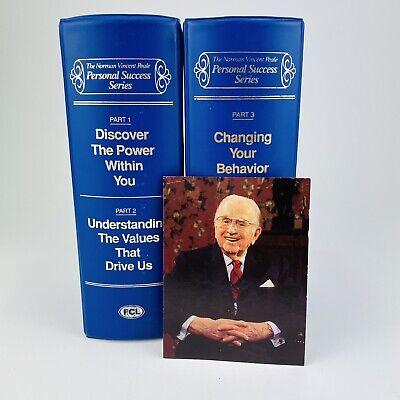 Norman Vincent Peale Personal Success Series, Personal Development, 24 Cassette