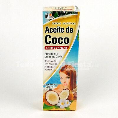 Coconut Oil Emollient For Hair Aceite De Coco Para Pelo 4.4 FL OZ segunda mano  Embacar hacia Argentina