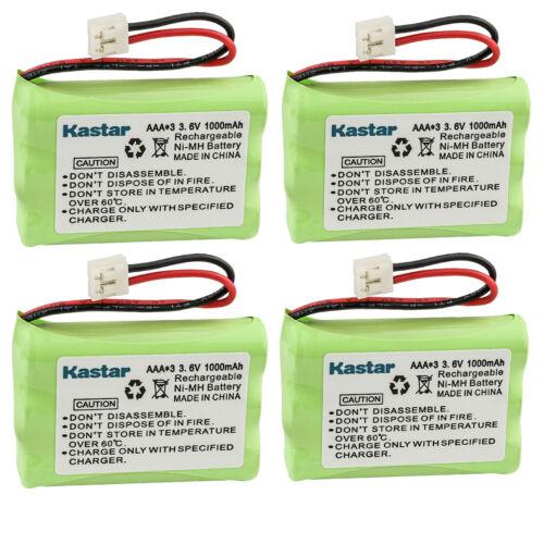 Kastar 4x 1000mAh Phone Battery Pack For VTech ER-P510 89-1323-00-00 Model 27910
