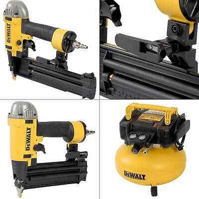 18-Gauge Brad Nailer and 6 Gal. Heavy Duty Pancake Electric Air Compressor -