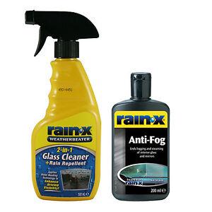 rain x glass window mirror cleaner rain repellent spray. Black Bedroom Furniture Sets. Home Design Ideas