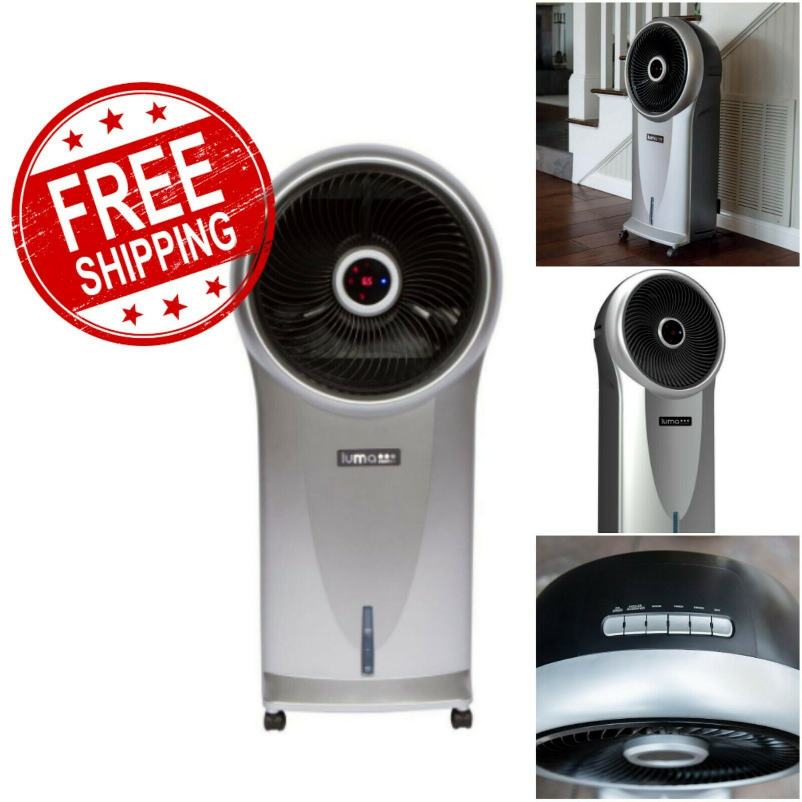 Free Standing Air Conditioner No Window Ultra Quiet Stand Up