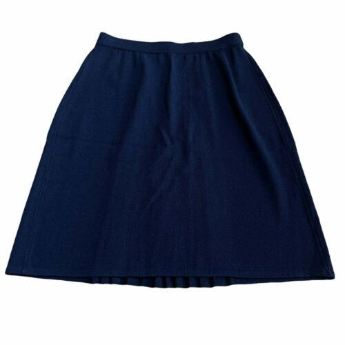 St John Collection By Marie Gray Navy Blue Skirt, Size 6