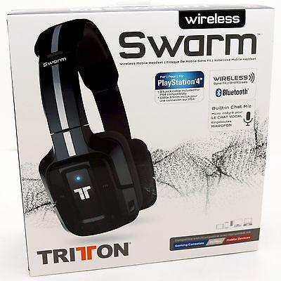 Usado, NEW Mad Catz Tritton Wireless Swarm Headset Bluetooth PS4/PC/Mac/iPhone/Android comprar usado  Enviando para Brazil