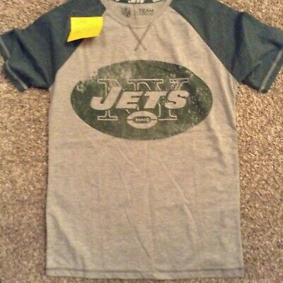 new york jets Majestic NFL american football team apparel T-Shirt