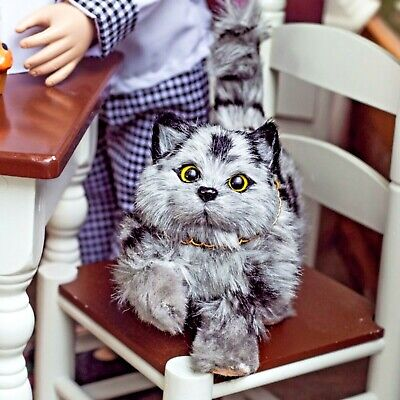 The Queen's Treasures GREY KITTY CAT Accessory Pet For 18