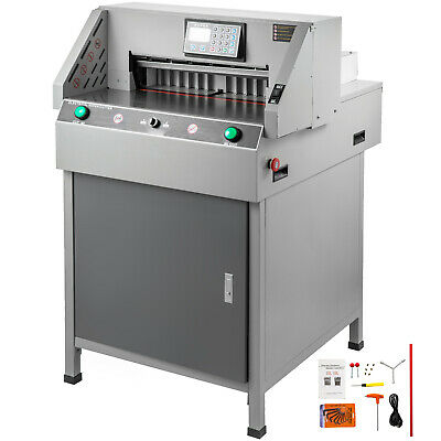 Program Control Electric Paper Cutter Paper Punch Cutter 19.