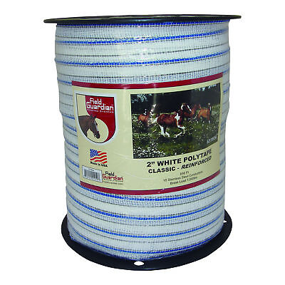 Field Guardian 2 White Polytape Classic Reinforced 631804 814421012197