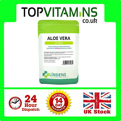Aloe Vera Gel 6000mg 360 Tabletten ✰ Darmreinigung Detox IBS Saft Ergänzung ✰