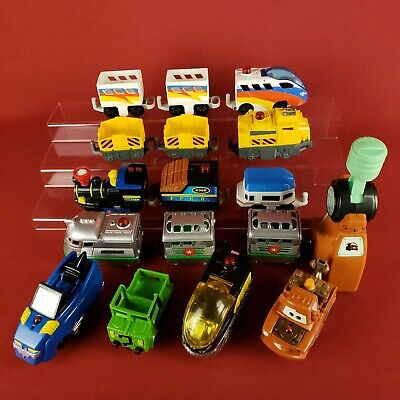 Geotrax Train Lot with DC Batman Engines and Mater Car with Remote