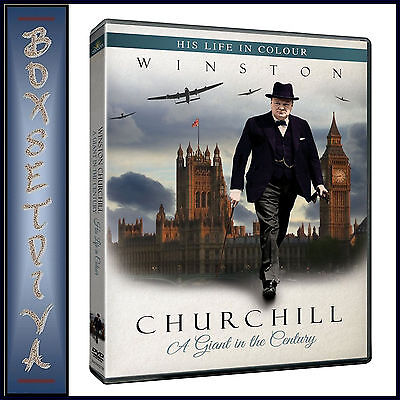 WINSTON CHURCHILL HIS LIFE IN COLOUR - A GIANT IN THE CENTURY **BRAND NEW