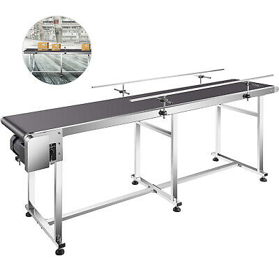 Vevor Pvc Belt Conveyor 82 X 16 Industrial Powered Pvc Conveyor Belt 110v