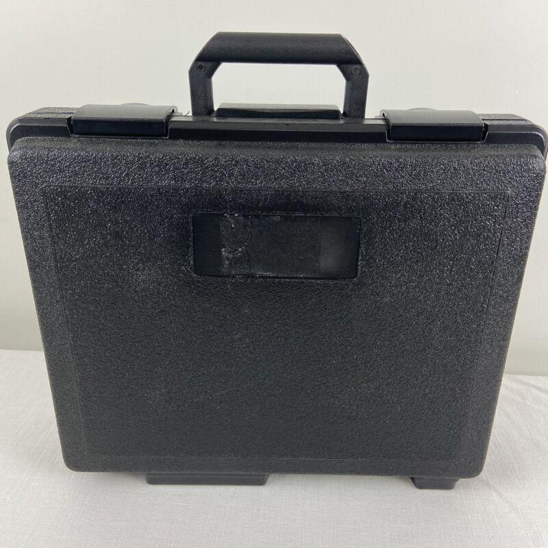 Fluke Black Hard Sided Carrying Case Storage Case