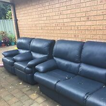 Leather sofas Botany Botany Bay Area Preview