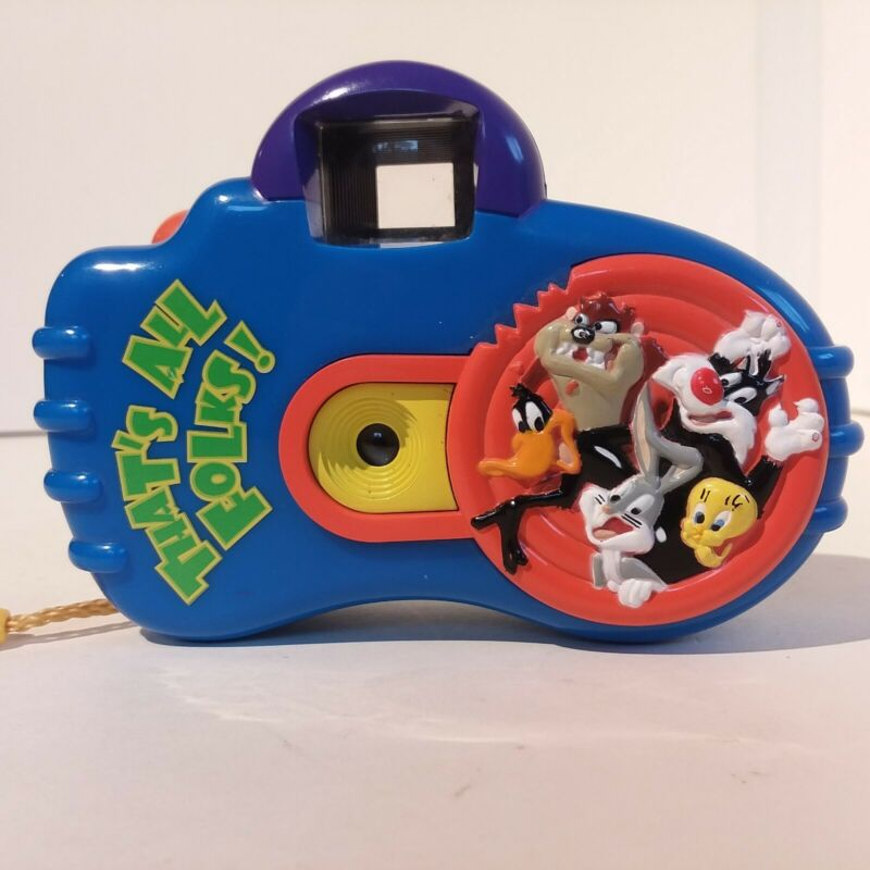 Looney Tunes Camera 1998 Warner Bros. Point and Shoot Outdoor 110 Bugs Bunny Taz