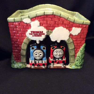 Thomas the Train Cookie Jar Bottom Only No Lid by Schmid 1994