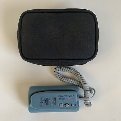 Medasonics First Beat Fetal Doppler Ultrasound