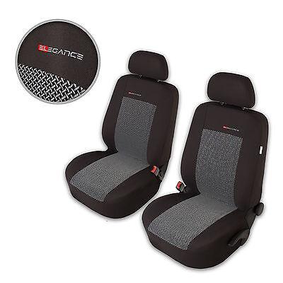 Sitzbezüge Sitzbezug Schonbezüge für Mercedes ML-Klasse Vordersitze Elegance P2
