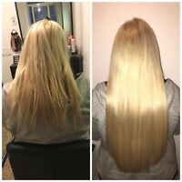 TOP QUAILTY hair extensions! Hot fusions/mobile services!