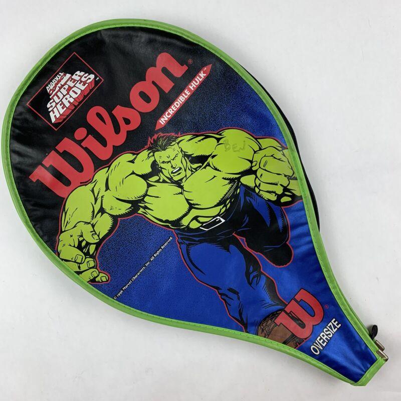 Wilson MARVEL Comics Incredible HULK Tennis Racquet Oversize Cover