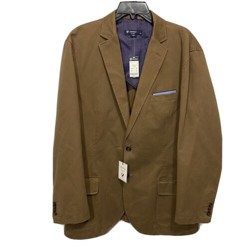 CREMIEUX Mens The Off Duty Blazer Sport Coat Jacket XL Brown Vintage Look Clothing, Shoes & Accessories