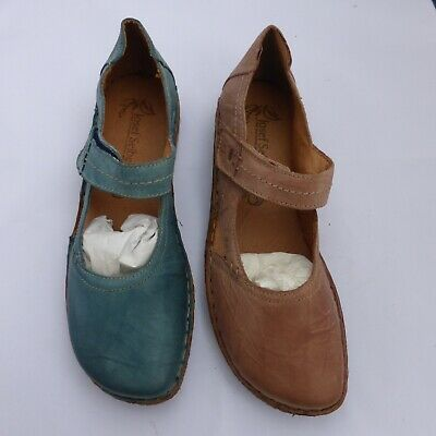 Josef Seibel Ladies Leather Sandal Blue or Rose Style- Rosalie 37