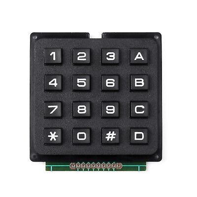 4 X 4 Matrix Array 16 Keys 44 Switch Keypad Small Keyboard Module For Arduino U
