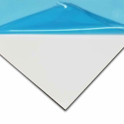 White Painted Aluminum Sheet 0.040 X 12 X 12