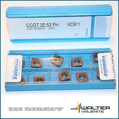 Ccgt 32.52 Fh Vc901 Valenite 10 Inserts