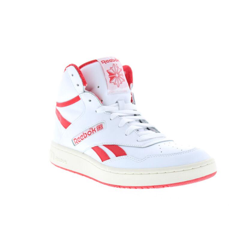 Reebok BB 4600 FV7352 Mens White Basketball Inspired Sneakers Shoes