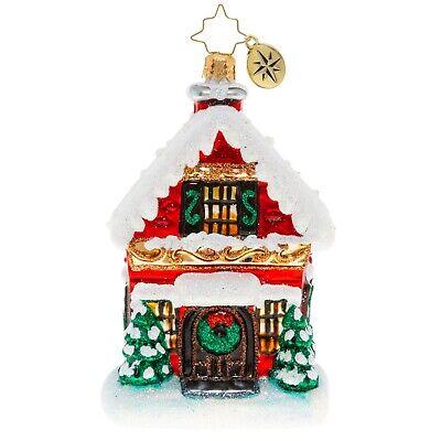 [NEW Christopher Radko BUILT BRICK BY BRICK Christmas Ornament 1020358</Title]