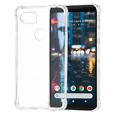 Google Pixel 2 XL Case Slim Fit Transparent TPU Protective Skin Back Cover Clear