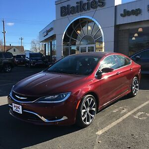 2016 Chrysler 200 C | HEATED SEATS | SUNROOF | BACK UP CAM |