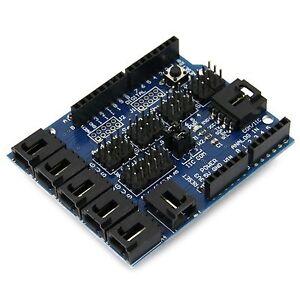 Sensor Shield V4.0 ErweiterungsBoard Digital-Analog- Modul für Arduino UNO Mega