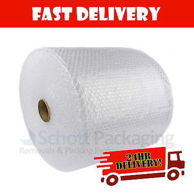 750mm x 100m Roll of Quality CUSHION SMALL BUBBLE WRAP